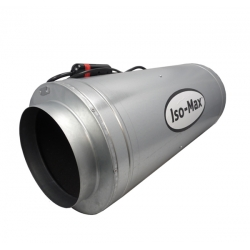 Extracteur ISO-MAX 410m3/h - 3 vitesses - sortie 150mm