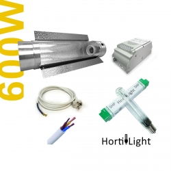 Kit 600W Class1 CoolTube + HORTILIGHT