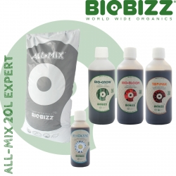 Pack All-Mix BioBizz 20 litres Expert