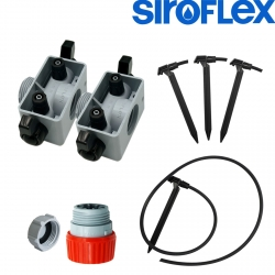 Kit irrigation 4 plantes - Siroflex