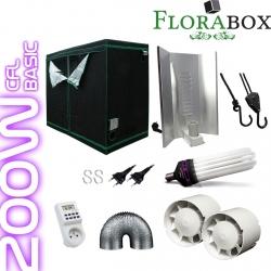 Pack Florabox 120W Basic + CFL 200W Dual