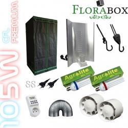 Pack Florabox 60 Premium + 2 x CFL 105W