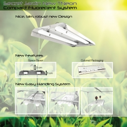 New TNEON 2X55W - Compact Fluorecent System -Secret Jardin