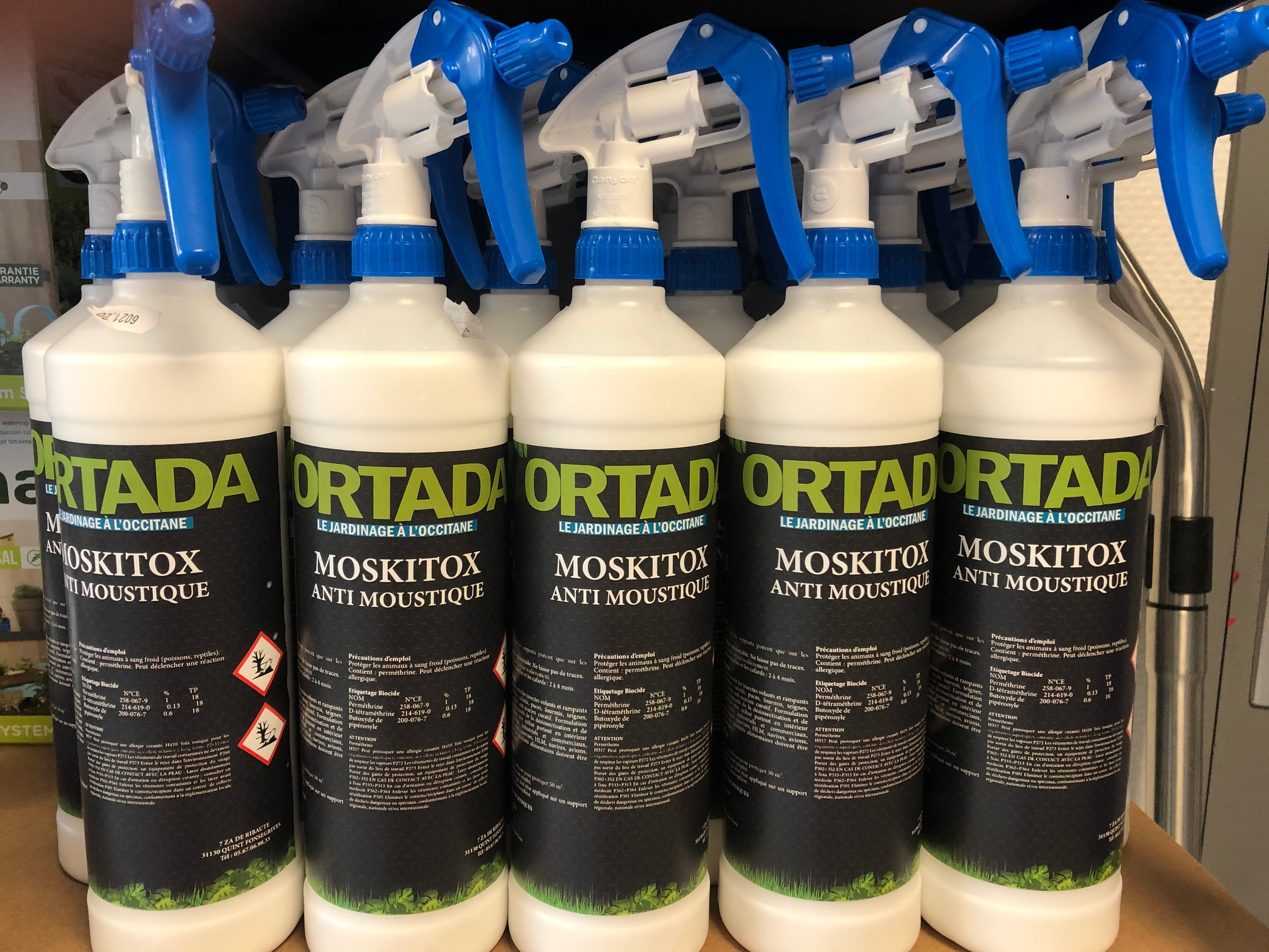 Insecticide Anti-moustiques