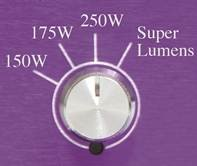 ballast Lumatek avec bouton switch super Lumens
