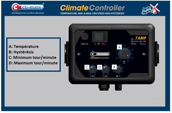 Controller Climate 7 ampères