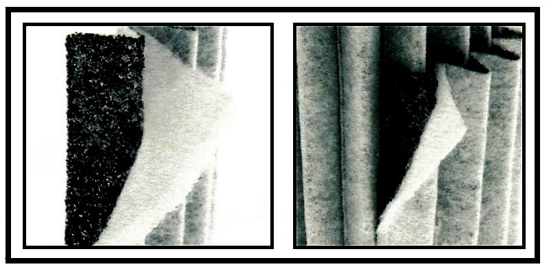 Tapis de laine multicouches du filtre carbone Proactiv 460 m3/h