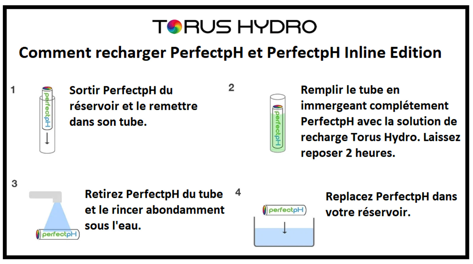 Recharger PerfectpH Torus Hydro