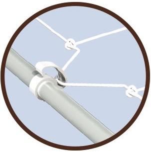 Cable IT 19mm - clip pour chambre de culture