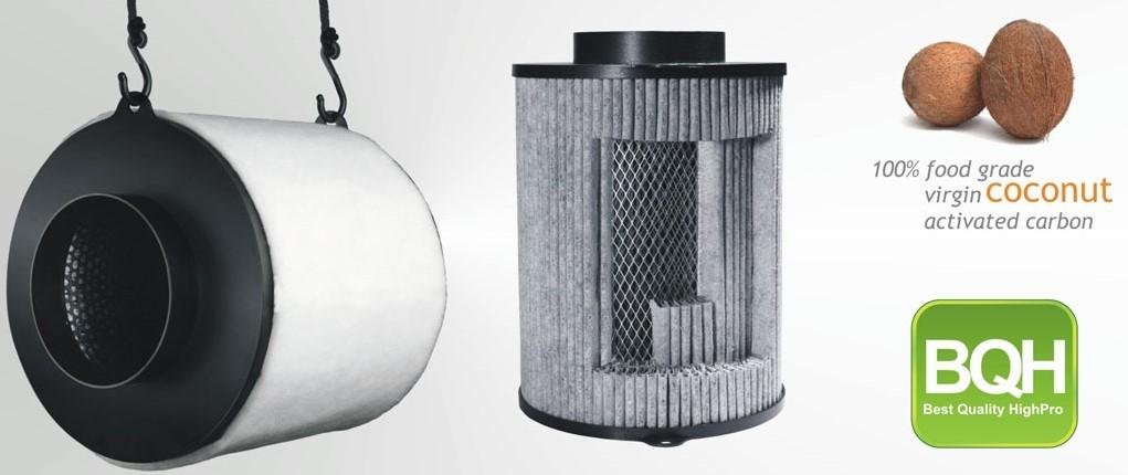 pack ventilation eco extracteur d 39 air filtre charbon 1000m3 h e. Black Bedroom Furniture Sets. Home Design Ideas